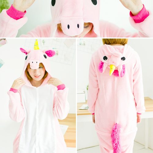 Женская пижама-костюм кигуруми в виде животных