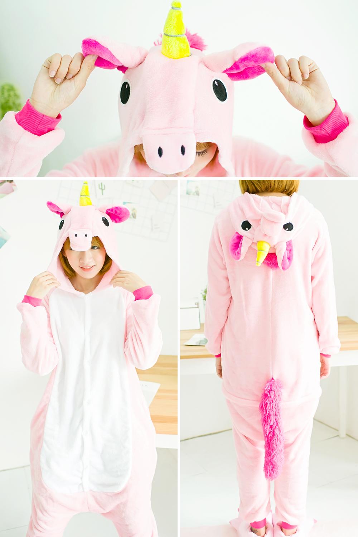 5b99f3827a692 Купить Женская пижама-костюм кигуруми в виде животных на Алиэкспресс ...