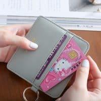 Карманная женская кредитница – мини-кошелек