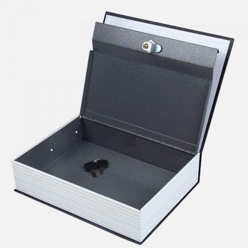 Книга сейф с ключом для денег