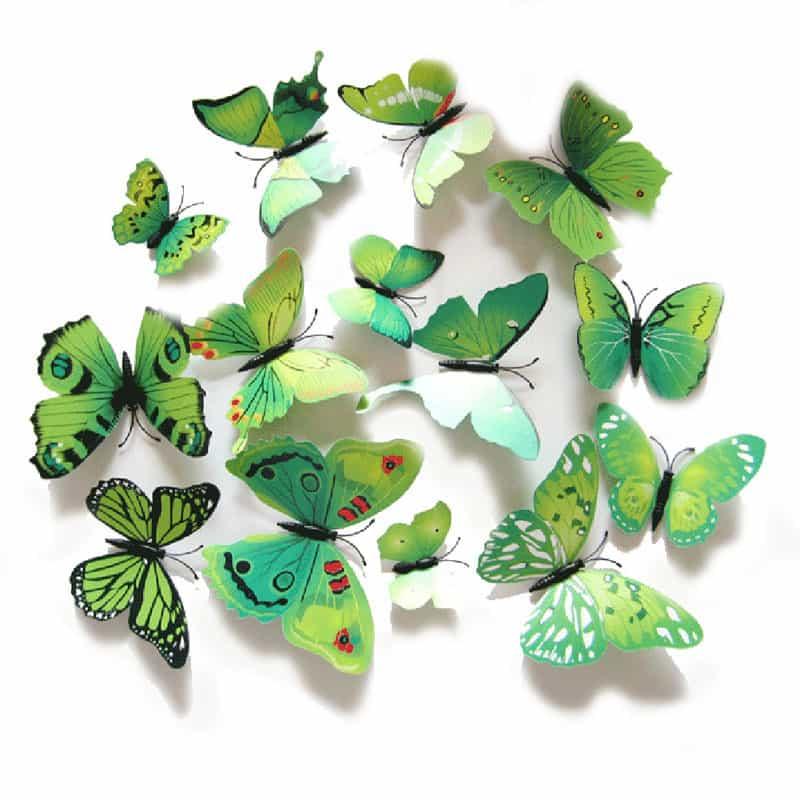 Картинки с объемными бабочками