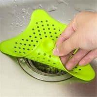 Пластиковая сливная фильтр-сетка для раковины на кухне