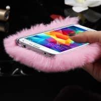 Пушистый чехол для Samsung Galaxy Note (Самсунг Галакси Ноут)
