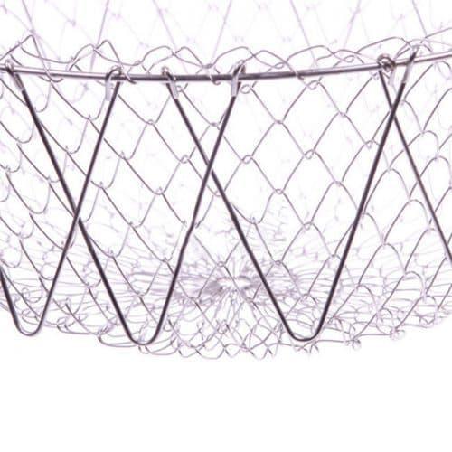 Универсальная складная решетка (сетка) для приготовления пищи в кастрюльку