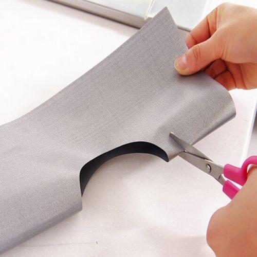 Защитное покрытие пленка накладка из фольги для газовых плит (4 пластины)