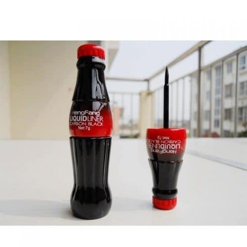 Жидкая водостойкая подводка для глаз в виде бутылки Coca-Cola