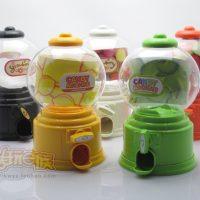 Детский игровой мини-автомат для выдачи конфет и жвачек, копилка Candy Machine