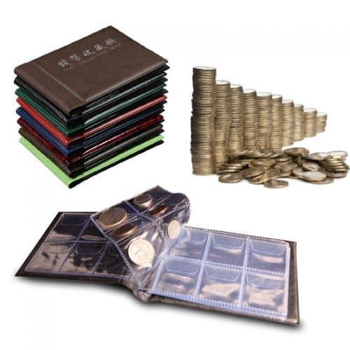 Альбом (кляссер) для коллекционирования монет