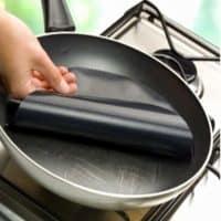 Антипригарный тефлоновый лист (коврик) для сковороды, жарки, выпекания