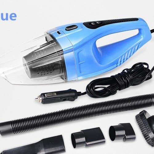 Автомобильный пылесос от прикуривателя для влажной и сухой уборки