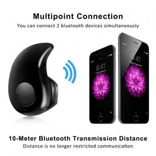 Fangtuosi S530 Беспроводные мини Bluetooth 4.1 стерео наушники-гарнитура вкладыши с микрофоном для телефона, iPhone