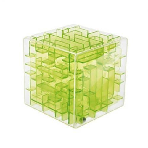 Детская 3D игра-головоломка – Объемный лабиринт в кубе с шариком