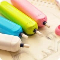 Электрический ластик на батарейках