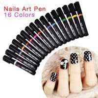 Фломастер, маркер для рисования на ногтях – лак-ручка для дизайна ногтей