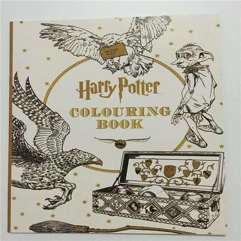 Купить Гарри Поттер волшебная раскраска-антистресс для ...