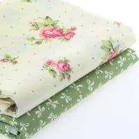 Хлопковая плотная ткань с рисунком для рукоделия, шитья