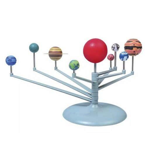 Интерактивная модель-конструктор Солнечная система, набор для детей