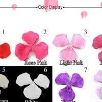 Искусственные шелковые лепестки роз – украшение на свадьбу