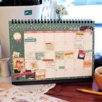 Календарь-домик настольный перекидной + планинг-ежедневник на 2017 год