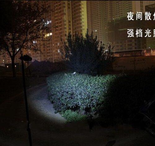 Карманный светодиодный LED фонарик аккумуляторный ручной водонепроницаемый