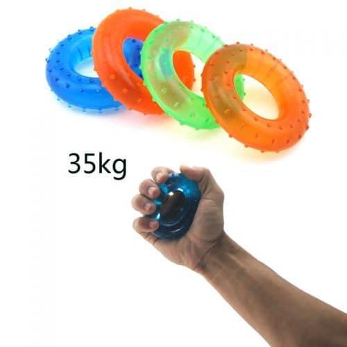 Кистевой тренажер-эспандер резиновое кольцо для тренировки 35 кг