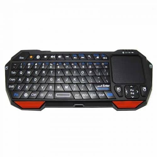 Компактная беспроводная мини клавиатура Bluetooth 3.0 с тачпадом для Android смартфонов, планшетов, Google TV, ноутбуков