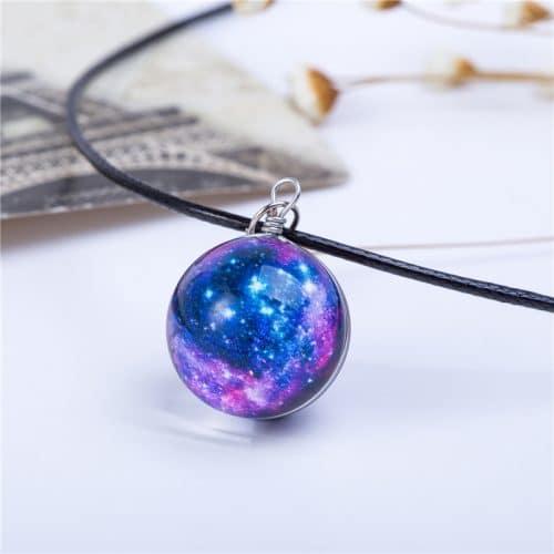Кулон-подвеска космос, планета, звезды, галактика, вселенная