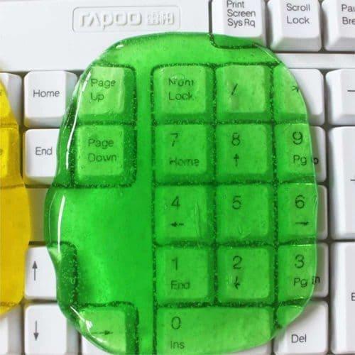 Лизун для чистки клавиатуры