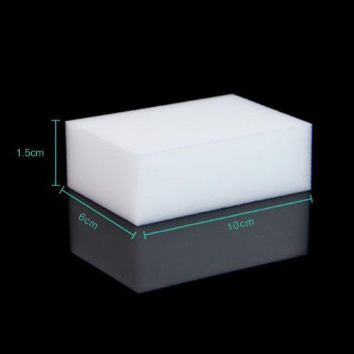 Меламиновая белая губка-ластик для удаления пятен, мытья посуды, уборки
