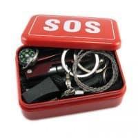 Минимальный набор  SOS для выживания в экстремальных условиях в лесу
