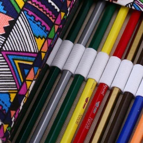 Мягкий пенал-свиток для карандашей, кистей, ручек, фломастеров