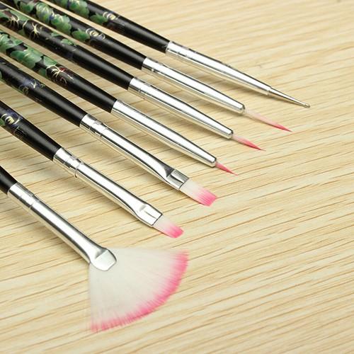 Набор кисточек для маникюра – набор кистей для дизайна ногтей