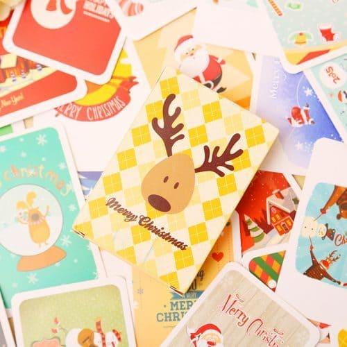 Набор новогодних подарочных открыток