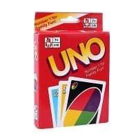 Настольная карточная игра Uno (Уно) сувенирная
