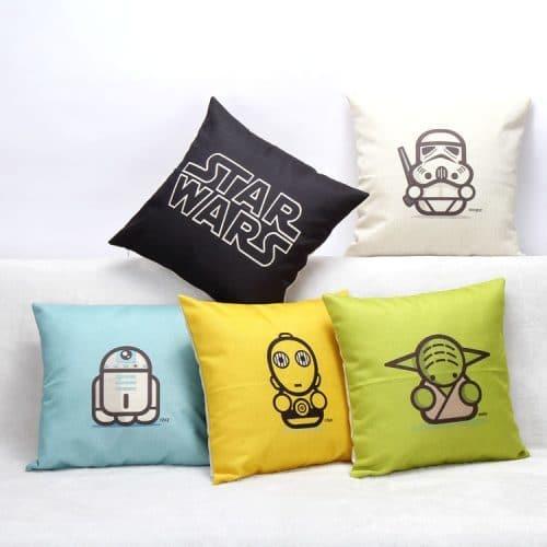 Наволочка на подушку Звездные войны (Star Wars) 45х45 см