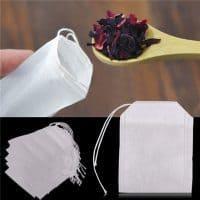 Одноразовые пакетики фильтры для заваривания рассыпного чая в наборе
