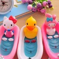 Оригинальная необычная настольная детская мыльница в ванную комнату