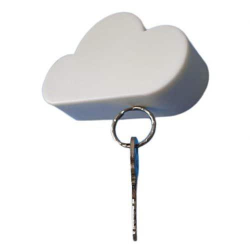 """Оригинальный магнитный держатель для ключей на стену в прихожую """"магнитное облако"""""""