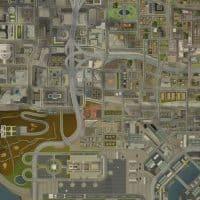 Плакат карта GTA V (ГТА 5)