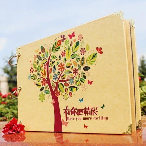 Подарочный фотоальбом Семейная история для семейных фотографий