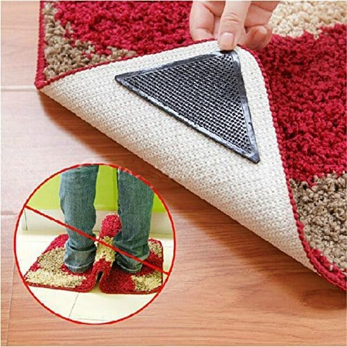 Противоскользящие уголки для ковров в наборе