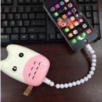 Шнур USB кабель для зарядки iPhone в виде браслета на руку