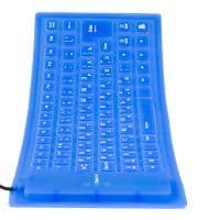 Силиконовая водонепроницаемая гибкая клавиатура USB для компьютера