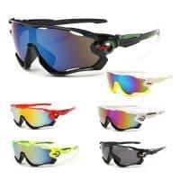 Спортивные солнцезащитные поляризационные велосипедные очки / велоочки