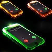 Светящийся при звонке чехол для телефонов iPhone 5 и 6 и Samsung Galaxy