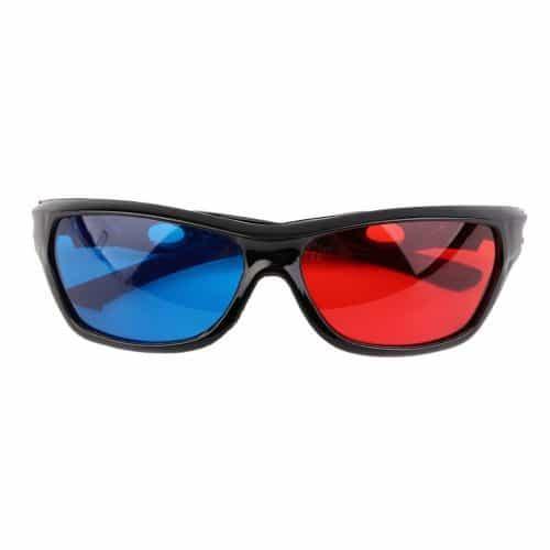 Универсальные пластиковые 3д очки (3d glasses) для смартфона, телевизора, компьютера