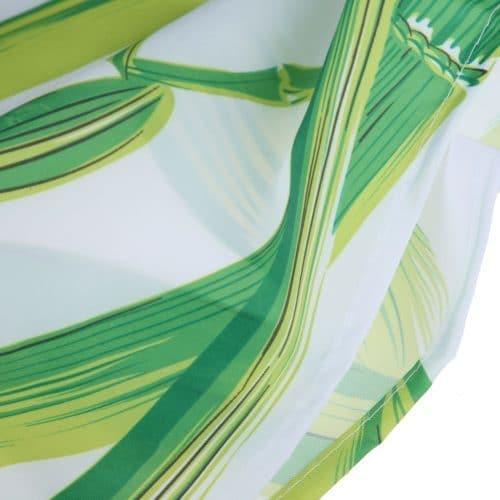 Занавеска шторка для ванной комнаты из полиэстера 180х180 см – бамбуковый лес
