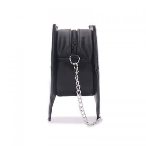 Женская голографическая сумка-клатч Diamond в виде алмаза на цепочке