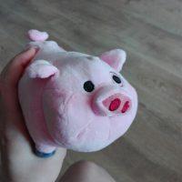 Мягкая игрушка Пухля (Вадлз/Waddles) из Гравити Фолз (Gravity Falls) - фото из отзывов покупателей