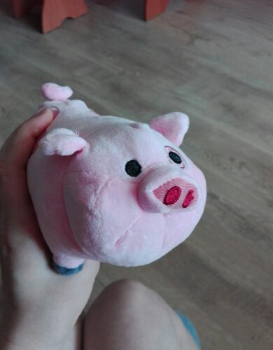 Мягкая игрушка Пухля (Вадлз/Waddles) из Гравити Фолз (Gravity Falls)